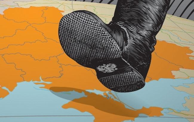 Фото: Агресія Росії в Криму - малюнок (maxpark.com)
