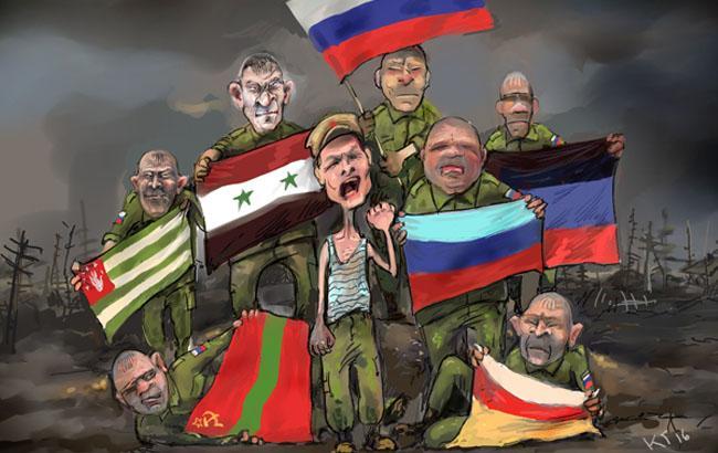 Фото: Карикатура на кліп Чичериної (Георгій Ключник, jjoriki.com)