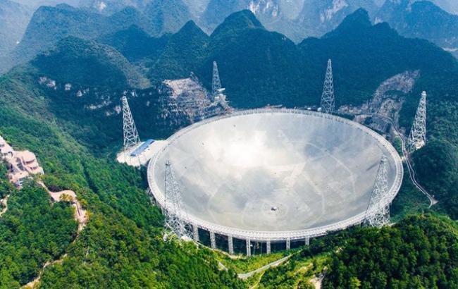Фото: радиотелескоп FAST