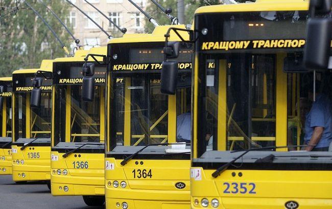 Фото: громадський транспорт Києва