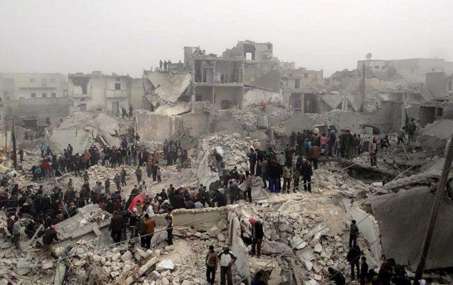 Правозащитники заявили одевяти тысячах жертв ударов ВКС вСирии