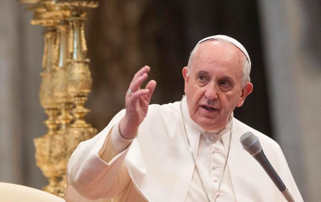 Фото: Папа Римский (ntv.ru)