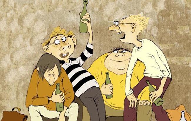 Фото: Карикатура - асоциальные элементы (caricatura.ru)