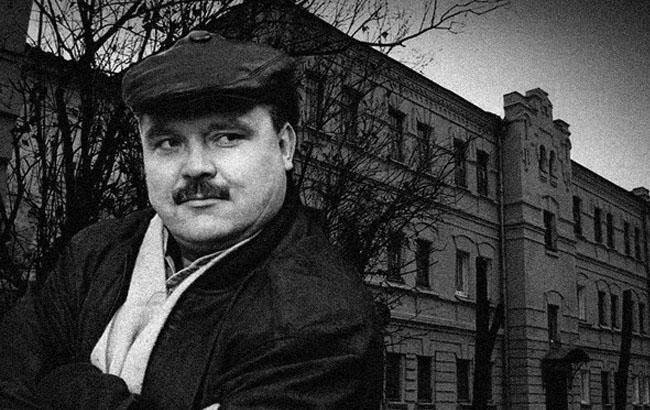 Фото: Михайло Круг на тлі Володимирського централу (radioshanson.fm)