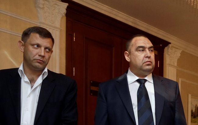 Фото: ватажки ДНР/ЛНР Олександр Захарченко та Ігор Плотницький