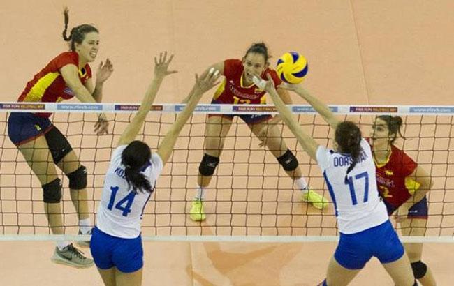 Фото: Матч з волейболу Україна - Іспанія (fvu.in.ua)