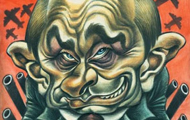 Фото: Владимир Путин - карикатура (veselahata.com)