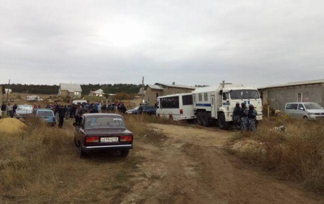 Фото: обыск в Строгановке