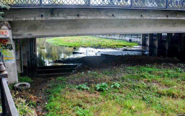 Фото: Река Салгир (krymr.com)