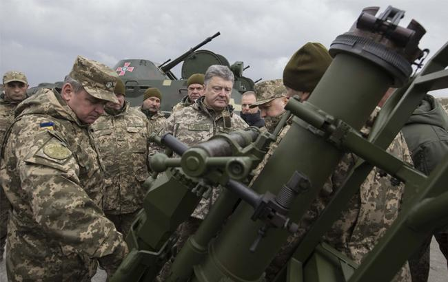Фото: Петро Порошенко вручив нову техніку ВСУ (president.gov.ua)