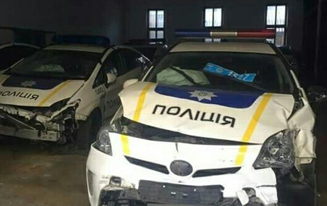 "Фото: ""Биті"" Toyota Prius (facebook.com)"