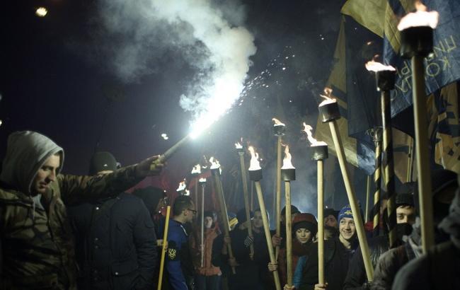 Фото: Марш наций в Киеве 14 октября (Виталий Носач, РБК-Украина)