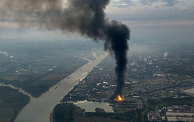 Фото: пожежа на заводі BASF в Німеччині