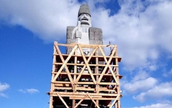 Фото: Памятник чабану в Одесской области (dumskaya.net)
