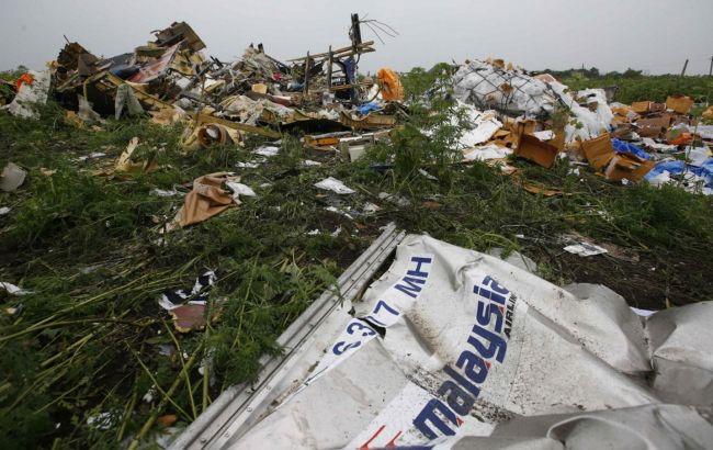 Фото: катастрофа MH17 на Донбасі