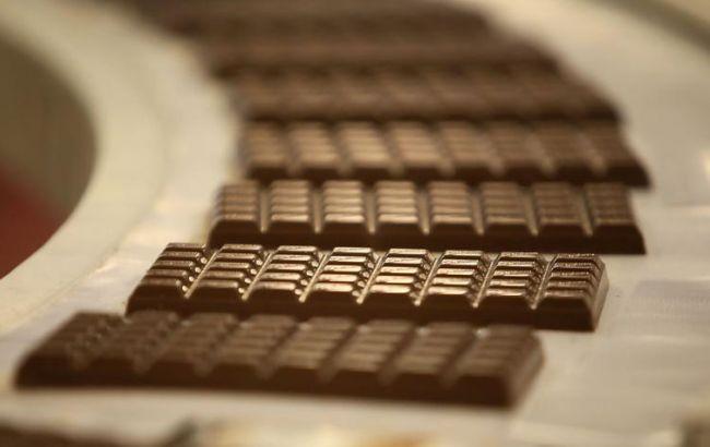 Фото: виробництво шоколаду у вересні трохи скоротилося