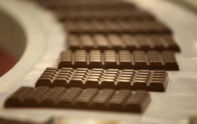 Фото: производство шоколада в сентябре немного сократилось