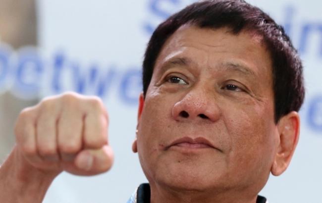 Фото: президент Філіппін Родріго Дутерте прагне співпраці з Росією та Китаєм