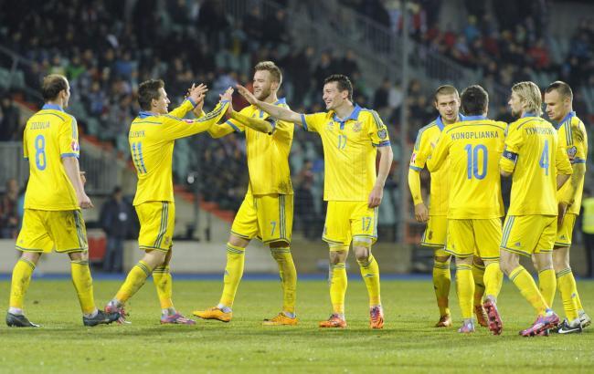 Фото: Украинские футболисты (bigmir.net)