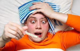 Фото: Хворий на грип (Joinfo.ua)
