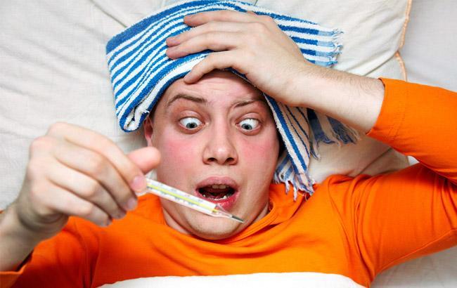 Фото: Больной гриппом (Joinfo.ua)
