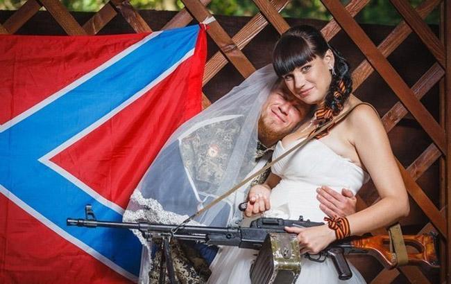 Фото: Моторола та його дружина Олена Павлова (LiveJournal)
