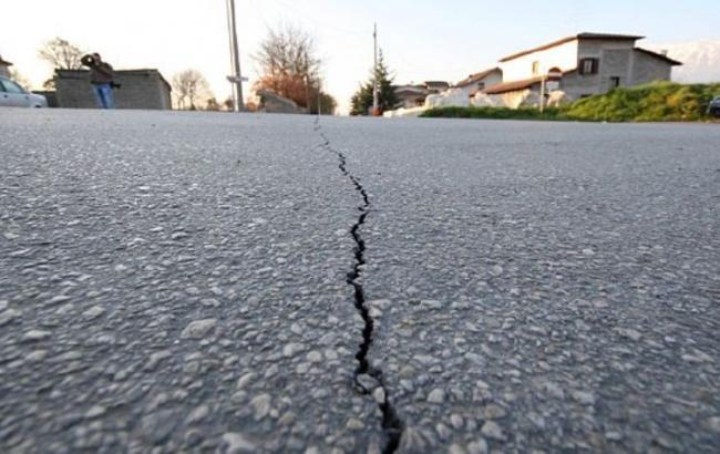 Фото: землетрясение в районе Курильских островов