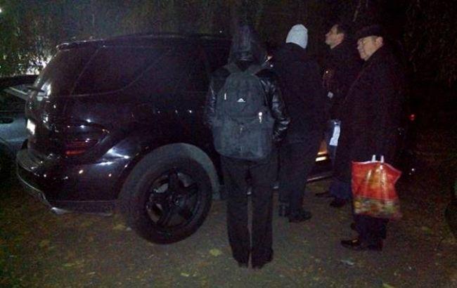 Фото: стрельба в Киеве