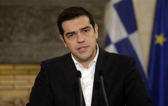 """Фото: Лидер партии """"СИРИЗА"""" Алексис Ципрас"""