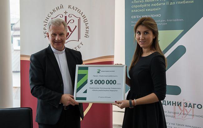 Центру реабілітації при Школі реабілітаційної медицини УКУ виділено 5 млн гривень