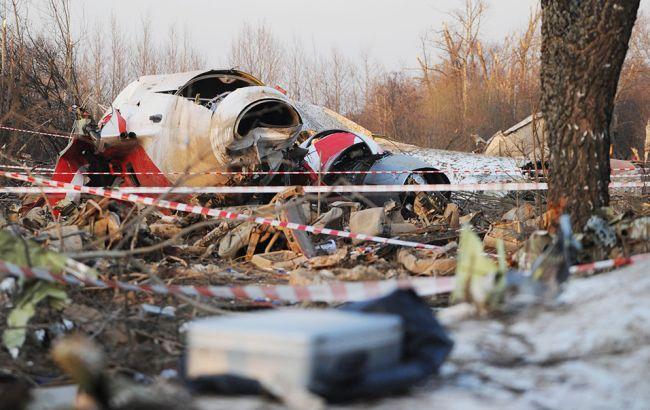 Фото: катастрофа під Смоленськом