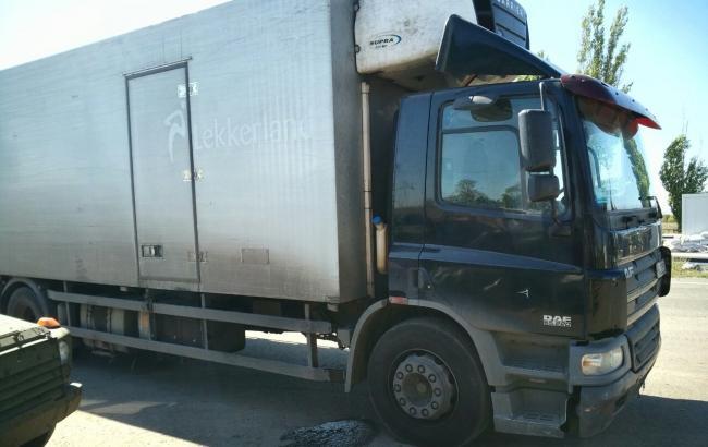 Фото: В Донецкой обл. арестовали 5 милиционеров, перевозивших продукты на оккупированные территории