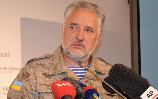 Фото: руководитель облавной военно-гражданской администрации Павел Жебривский