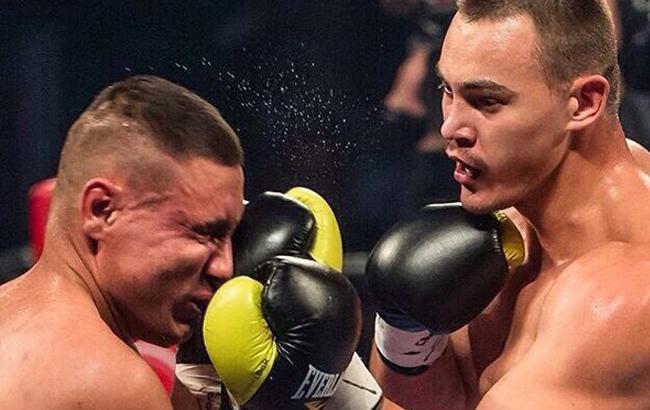 Фото: Олександр Тесленко в рингу (vk.com)