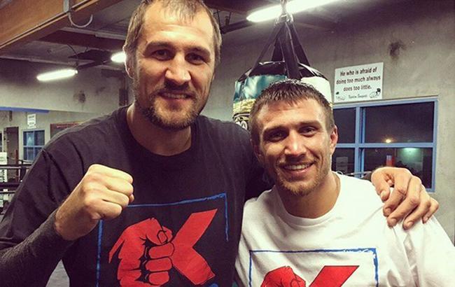 Фото: Василь Ломаченко та Сергій Ковальов (instagram.com)