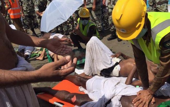 Фото: на хаджі в Мецці загинули 150 людей