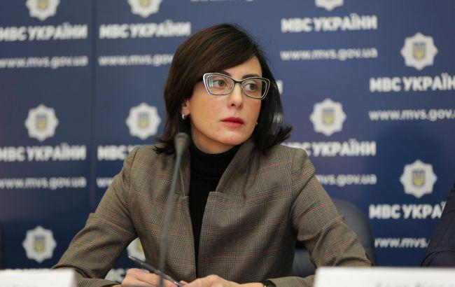 Деканоїдзе пообіцяла відреагувати на ситуацію з призначенням голови черкаської поліції