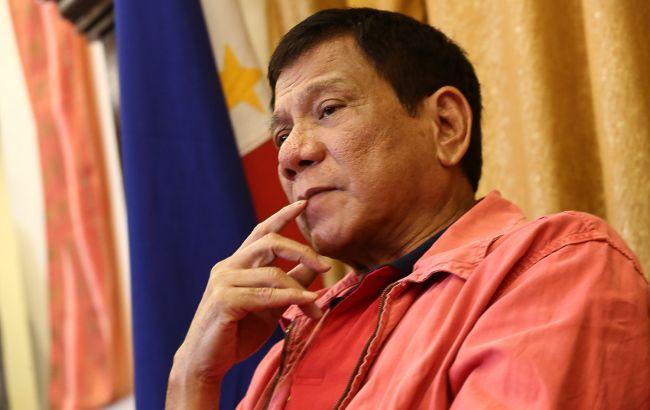 Президент Філіппін Дутерте назвав Путіна своїм кумиром