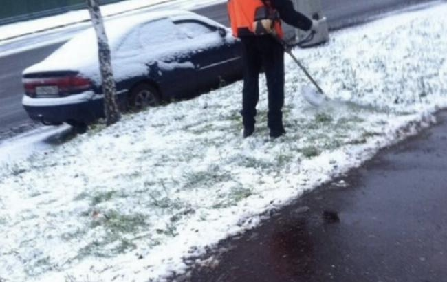 Фото: Снег в Москве (Facebook)