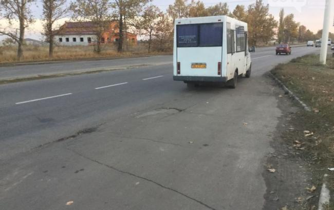 Фото: Маршрутка в Миколаєві (0512.com.ua)