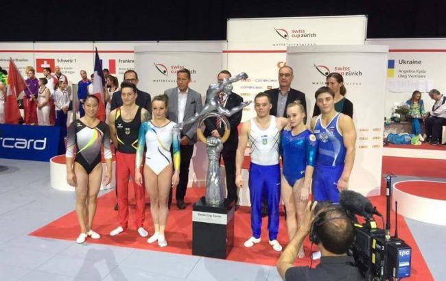 Фото: Украинские гимнасты (Facebook)