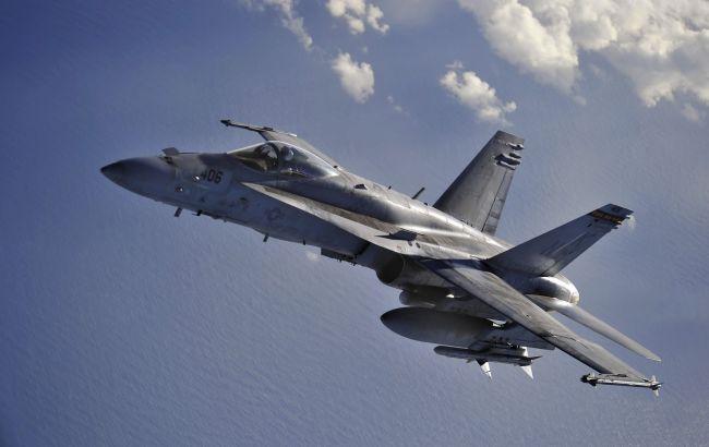 Фото: над Калифорнией столкнулись два истребителя ВМС США