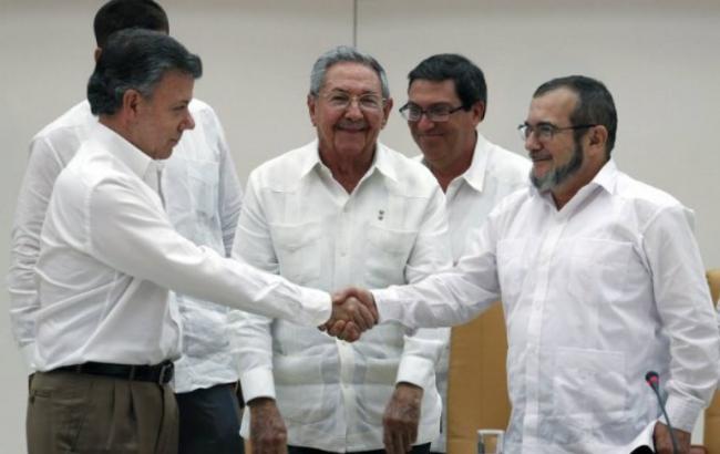 Влада Колумбії домовилися про мир з повстанцями