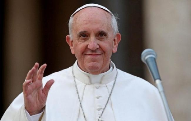 Фото: Папа Римський (vestikavkaza.ru)