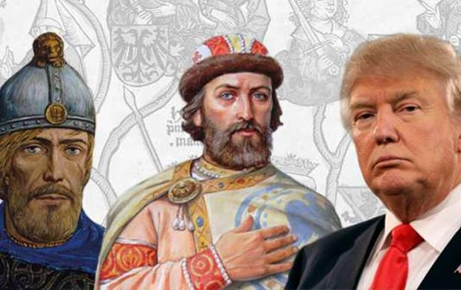 Фото: Дональд Трамп и князья - коллаж (zavtra.ru)