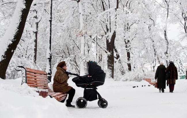 Фото: Снег в Украине (aif.ua)
