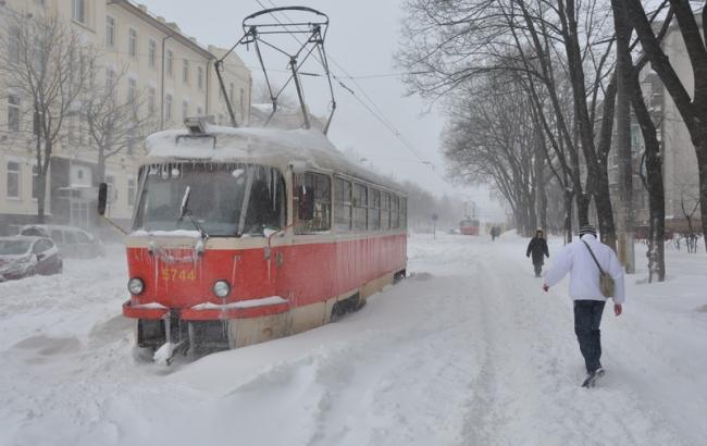 Фото: Снег в Украине (ZN.ua)