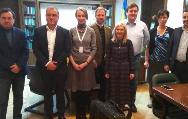 Фото: исполняющая обязанности председателя Гослесхоза Кристина Юшкевич встретилась с партнерами из Австрии и Германии