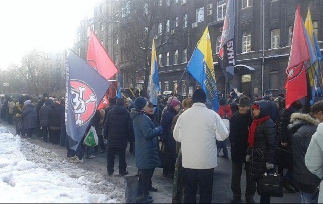 Фото: акции протеста в Киеве