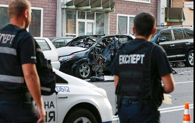 Правоохранители усилили меры безопасности в столице (фото УНИАН)